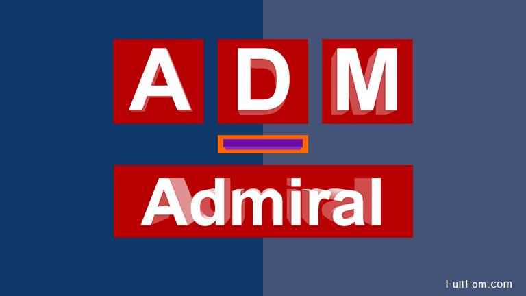 ADM full form