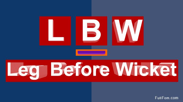 LBW full form