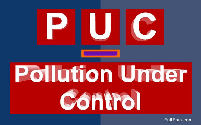 PUC full form