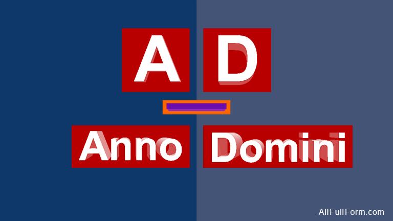 AD full form