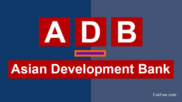 ADB full form