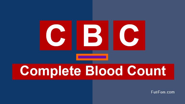 CBC full form