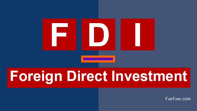 FDI full form