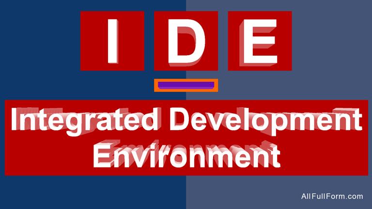 IDE full form