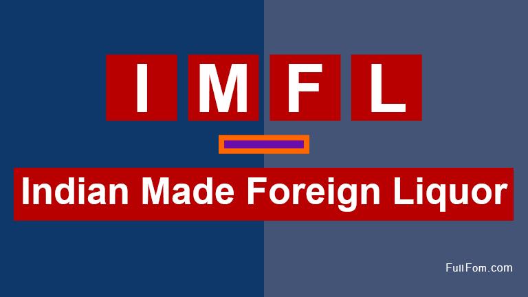 IMFL full form
