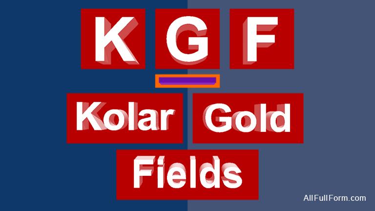 KGF full form
